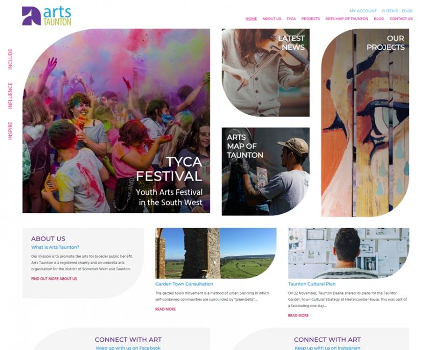 Arts Taunton Website