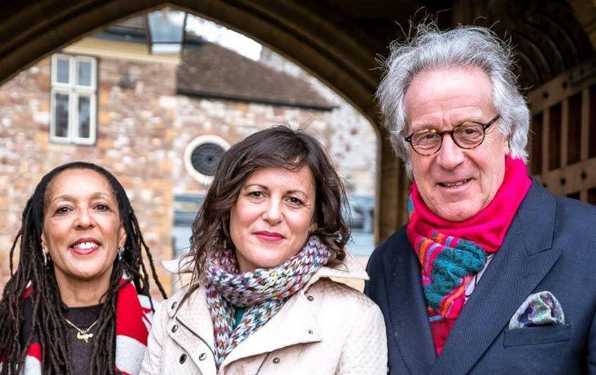 Arts Taunton Team: Deborah Baddoo MBE, Kathryn Davies, and Kit Chapman MBE